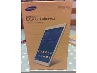"""Samsung Galaxy TabPRO 8.4"""" T320, 16GB, WiFi, WQXGA Android Tablet Brand new in sealed box. White."""