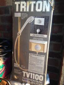Triton Thermostatic Mixer Valve Shower NEW