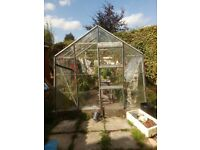 Greenhouse approx 8ft x 8ft