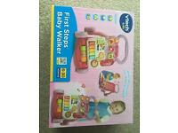 Vtech baby walker (un-used and still boxed)