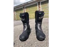 TCX waterproof motorcycle boots
