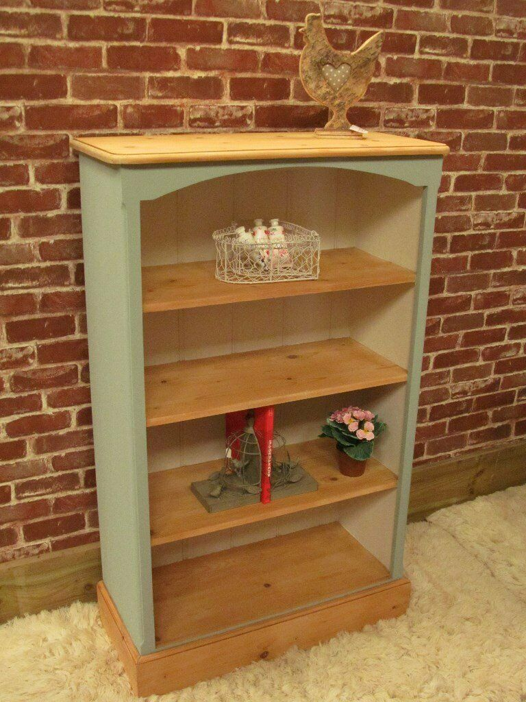 Painted Solid Pine Shabby Chic Country Bookcase In Diss Norfolk Gumtree