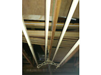 An Original, Vintage 1920's/1930's Hanging Clothes Drier / Airing Rack