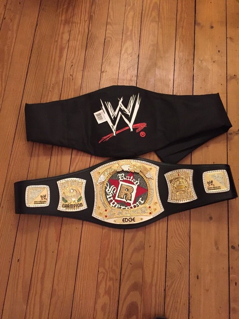 Rated R WWE beltin Hyndland, GlasgowGumtree - Two WWE Rated R belts. One new the other nearly new. Sold as a pair or separately