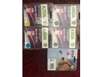 New Epson ink cartridges x2 black, magenta yellow and cyan