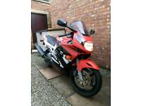 CBR 600 f3 full road fairings only, CBR 600 1998 steelie fairings includes all lights & indicators