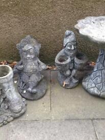 Garden ornaments for sale £10 each