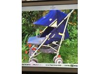 Excellent Maclaren techno XLR buggy pram pushchair