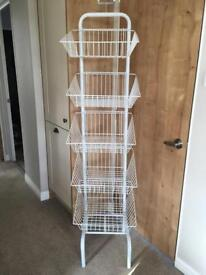 Food Shelving with baskets