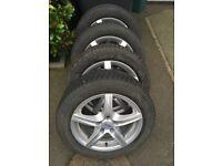 "16"" Alutec Alloy wheels with Vredestein winter tyres"