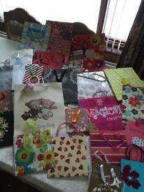 Box Of 26 Gift Bags - Various Occasions & Sizes (See Listing & All Photos)