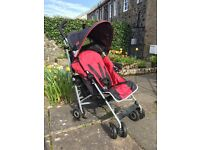 Red Maclaren buggy