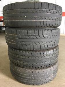 Set of 225/65R17 all season tires