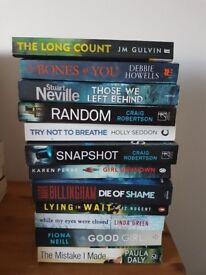 12 Crime & Thriller Books
