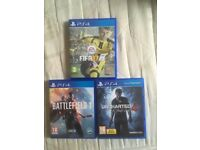 PS4 games all good condition all 3 for £20