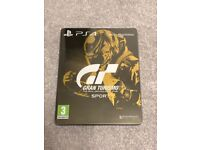 Gran Turismo Sport - GOLD LIMITED EDITION - PS4 - Mint Condition