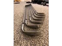 Cobra irons, pw & 56