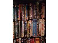 Roughly 160 DVDs job lot collection