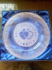 Edinburgh crystal plate