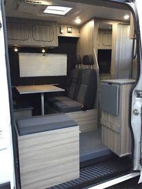 Volkswagen crafter camper cr35 2013(63)reg 4berth motor home 58k miles no vat upgrade from t5