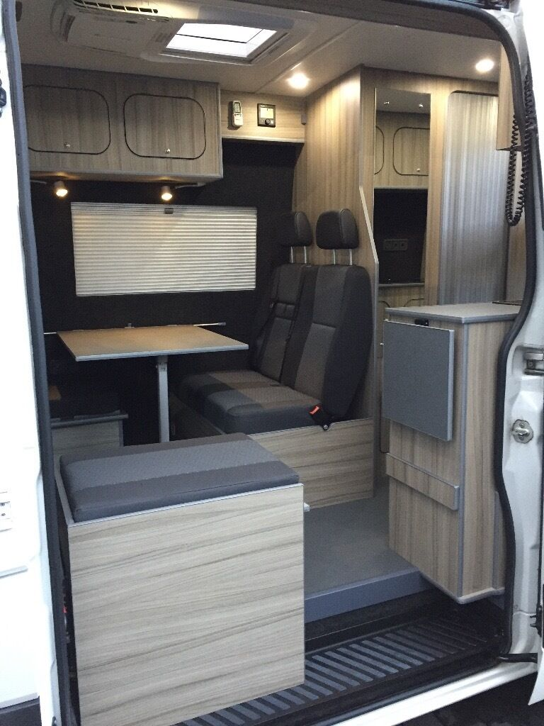 volkswagen crafter camper cr35 2013 63 reg 4berth motor. Black Bedroom Furniture Sets. Home Design Ideas