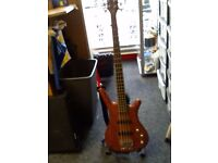 WARICK CORVETTE BASS GUITAR