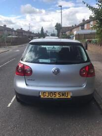 Vw Golf 2005 silver, 1.4 petrol manual long mot. Good condition in/ out, with age related marks