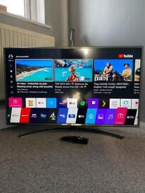 """LG 43"""" Smart 4K Ultra HD HDR LED Freeview HD Freesat TV Google Assistant Voice activated"""