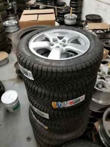 New and used 205 55 16 / 215 60 16 winter tires on OEM Chevy Cruze Sonic rims 5x105 ///\\\ TPMS sensors in stock