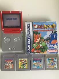 Mario Gameboy Advance lot