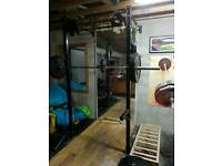 Crossfit squat rack rig