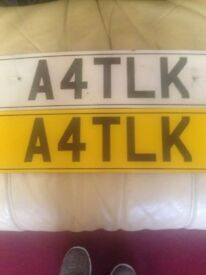 Reg plate with set of alloys if wanted