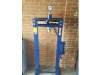 Draper hydraulic 30 tonne press