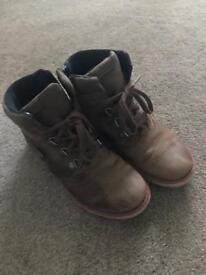 Kids Clark's gortex boots