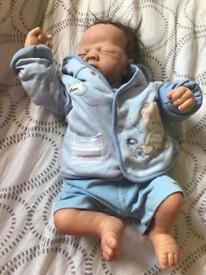 Baby boy reborn