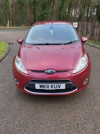 Ford, FIESTA, Hatchback, 2011, Manual, 1560 (cc), 5 doors