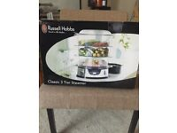 Brand new - Russell Hobs 3 tier Steamer