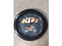 KTM Clock