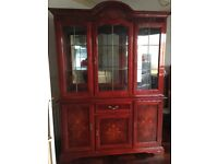 Italian cabinet wall unit in good condition