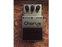 Boss Chorus CE-3 pedal. Great Condition