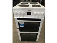 Beko BDV555AW 50cm Electric Double Oven