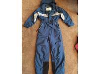 Snowsuit blue 5-6