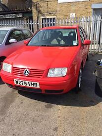 VW Bora TDI 90 sunroof 12 month Mot