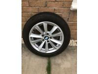 BMW 5 series 17 inch alloy wheel