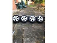16 INCH BMW 1 SERIES ALLOYS WHEELS AND TYRES