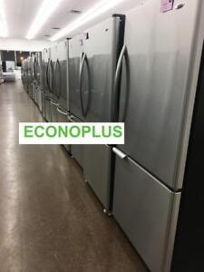 ECONOPLUS LIQUIDATION REFRIGERATEURS INOX CONGELATEUR AU BAS A PARTIR DE 649.99$ TAXES INCLUSES