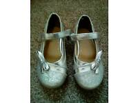 GIRLS F&F PARTY SHOES SIZE 9