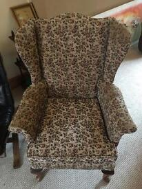 Parker Knoll 1930s Wingback Chair