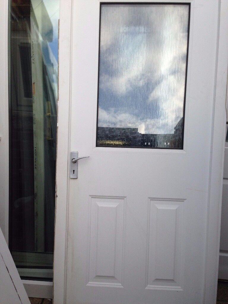 upvc back door £35