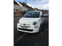FIAT 500 POP, low mileage, perfect condition, baby forced sale
